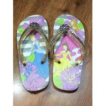 Sandalias Huaraches Chanclas Playa Disney Store Princesas 21