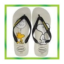 Havaianas Sandalia Para Unisex Snoopy, Nuevos Modelos!