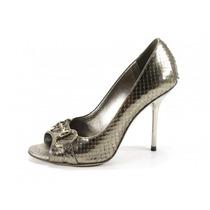 Zapatos Plateados Gucci