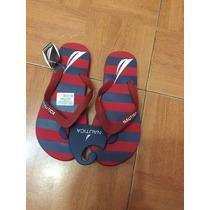 Sandalia De Piso Nautica Nuevas Originales 23cm