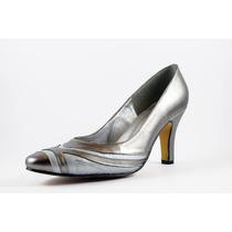 Zapato David Corsaro Piel Inox C/plomo Modelo 260-61