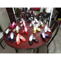 Zapatillas De Ballet Suela Completa Piel Talla Chica