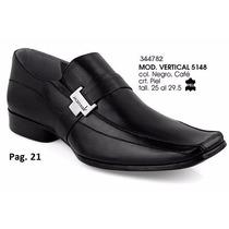 Zapatos Vertical Para Caballero Color Negro Y Cafe I