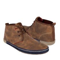 Wink Zapatos Caballero Botas 8015 Simipiel Camel