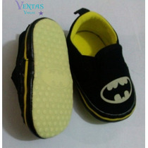 Zapatos Bebe Niño Batman Zapatito