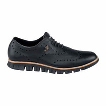 Zapatos Oxford Negro Bostoneanos Hpc Polo
