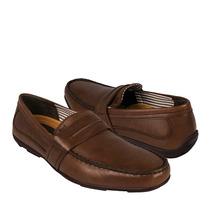 Flexi Zapatos Caballero Casuales 68602 Piel Cafe