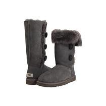Zapatos Ugg Bailey Gris Sheepskin