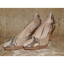 Zapatos Tacones Coach 100% Original Talla 25.5