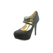 Material Girl Kristen Faux Suede Maria Janes Zapatos