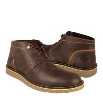 Flexi Zapatos Caballero Botas 94502 Piel Cafe