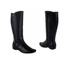 Bota Larga Casual Vivis Shoes Color Negro