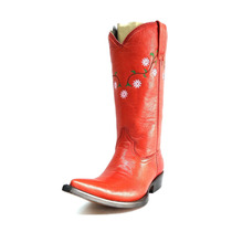 Bota Vaquera Rancho Lady Red