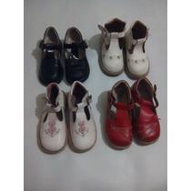 Lote De 4 Pares De Zapatos Para Niña
