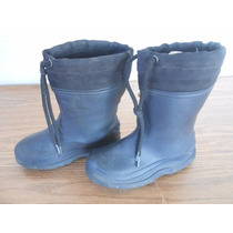 Botas De Lluvia Frio Nieve Agua Niños #251