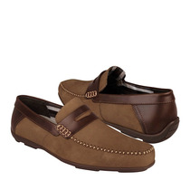 Flexi Zapatos Caballero Casuales 68607 Gamuza Camel