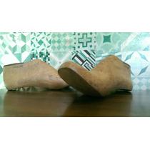 Horma De Madera Para Zapato/ Decoración