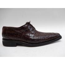 Zapatos De Vestir Piel Cocodrilo Original Spartanboots