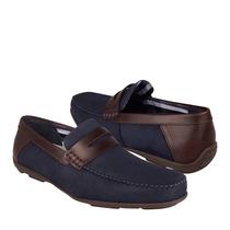 Flexi Zapatos Caballero Casuales 68607 Gamuza Navy