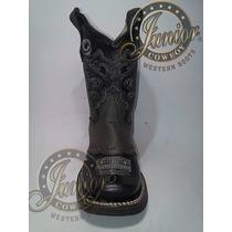 Bota Rodeo Flother Junior Cowboy Niño