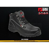 Zapato De Seguridad Toro Negro 602 Cr Mayoreo Safety Tools