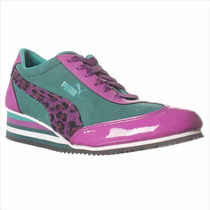 Puma Caroline Wedge Fashion Sneaker
