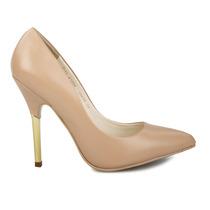 Zapatos Zapatillas Beige Andrea 2126548 Piel Tacón 11cm