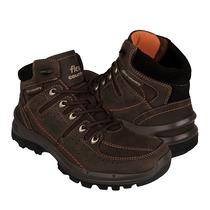 Flexi Zapatos Caballero Botas 93104 Piel Expreso