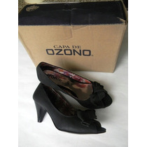 Capa De Ozono Zapatillas Negras