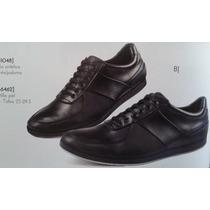 Tendencias Zapatos Tenis Caballero En Piel Antiderrapantes