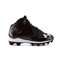 Cleats Niño Futbol Americano Under Armour Hammer Mid Rm Jr