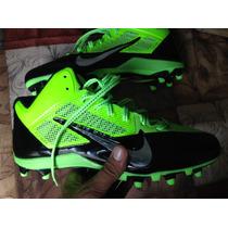 Tachones De Americano Nike Alpha Pro8 Mex Flouresentes