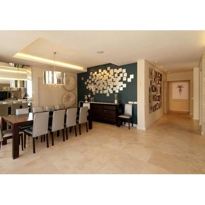 Piso de marmol travertino m2 fiorito pulido mate for Fotos de pisos de marmol travertino