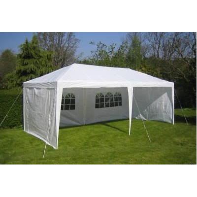 Toldo carpa para cualquier evento c cortinas impermeable for Carpa para jardin