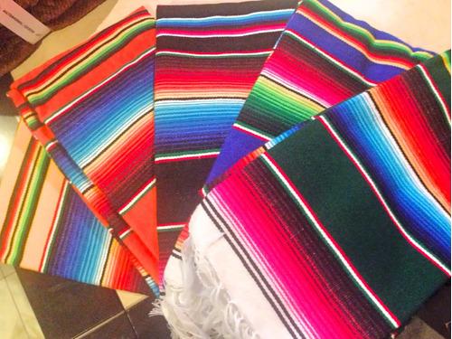 0276941e873 Sarape De Saltillo Artesanía 100% Mexicana Chico 90x190 Cms en venta ...