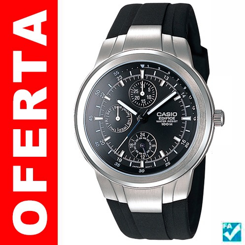 cfe71907969c Extensible Ef305 De Caucho Para Reloj Casio Ef305 en venta en ...