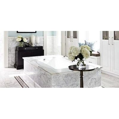 Piso de marmol blanco capuchino 180 00 m2 30x30 brillado for Marmol precio m2