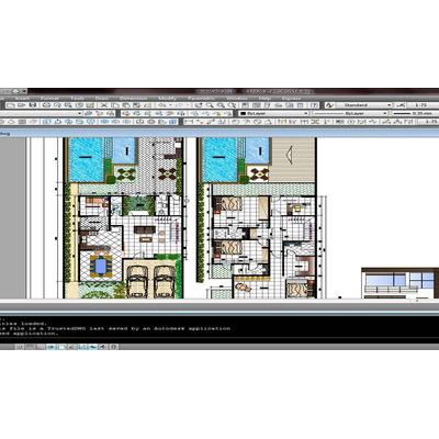 Planos de casas con alberca en autocad en for Casa minimalista planos dwg