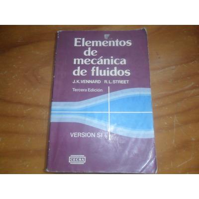 elementos de mecanica de fluidos de vennard