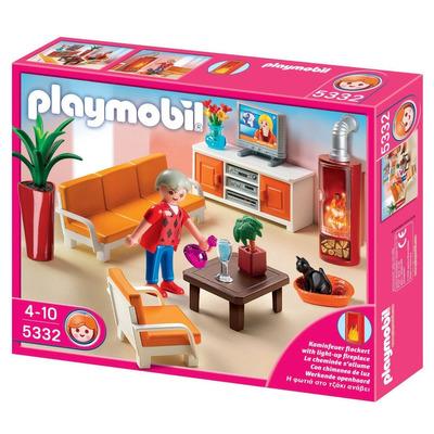 Playmobil 5332 sala de estar caja maltratada - Playmobil wohnzimmer 5332 ...