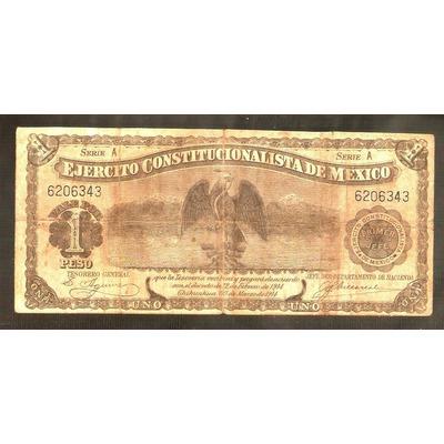 Barato billete de un peso 70 0 numism tica calchay - Billetes muy baratos ...