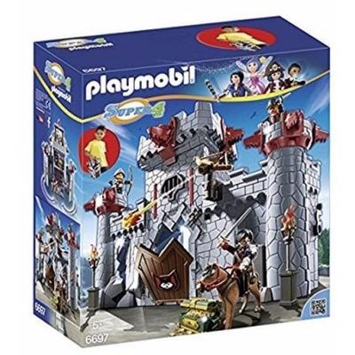Retromex playmobil 6697 castillo baron negro medieval - Chateau fort playmobil pas cher ...