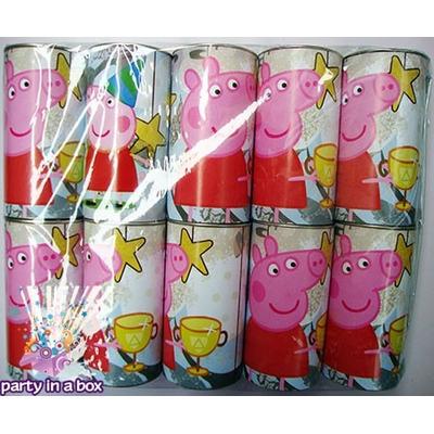 Paquete Con 10 Alcancías Peppa Pig. Todo Para Tu Fiesta -  80.00 ...