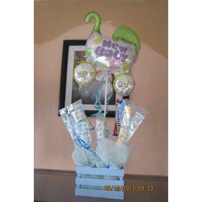 Centros de mesa bautizo cumple baby shower boda xv - Como hacer centros de mesa con dulces para bautizo ...