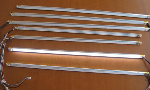 2 Lamparas Con Riel Y Cable Ccfl Backlight Monitores