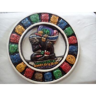 Calendario maya de madera y de piedra caliza - Piedra caliza precio ...