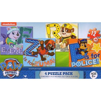 3 cajas c cuatro rompecabezas fiesta paw patroll como premio en mercado libre - Caja rompecabezas ...