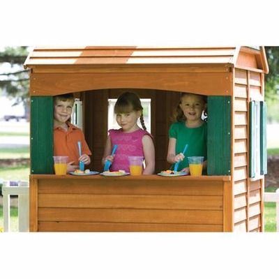 de madera playhouse ofrece un montn de actividades fantsticas para sus hijos energticos amantes de la diversin este diseo de juegos