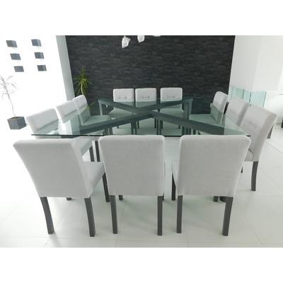 Comedores y mesas de trabajo muebles contemporaneos for Sillas grises para comedor