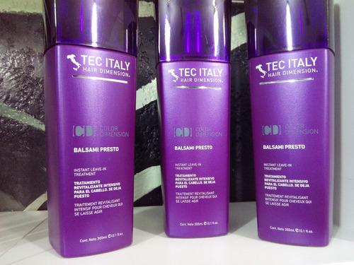 Tratamiento para el cabello italy